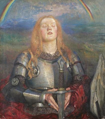 Joan of Arc by Annie Swynnerton