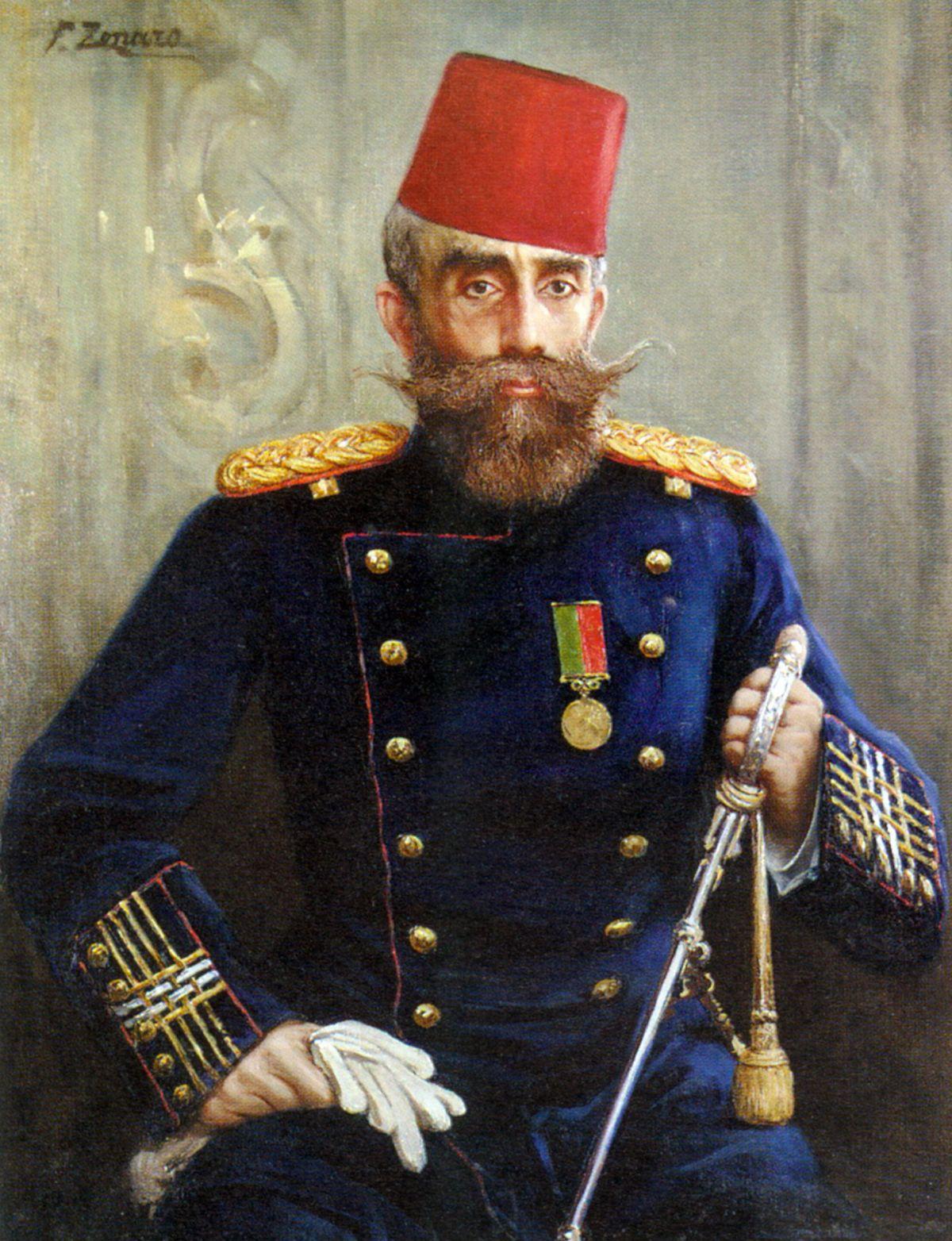 Portrait of Mahmud Sevket Pasha by Fausto Zonaro