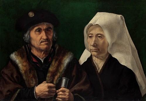 An Elderly Couple by Jan Gossaert