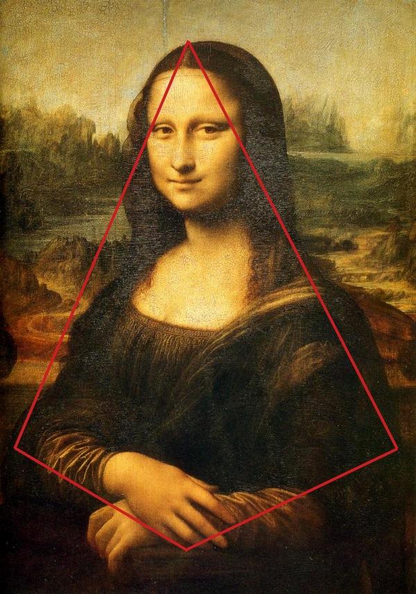 Mona Lisa Pyramidal Composition
