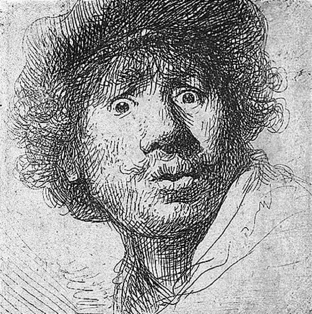 Rembrandt Hatching