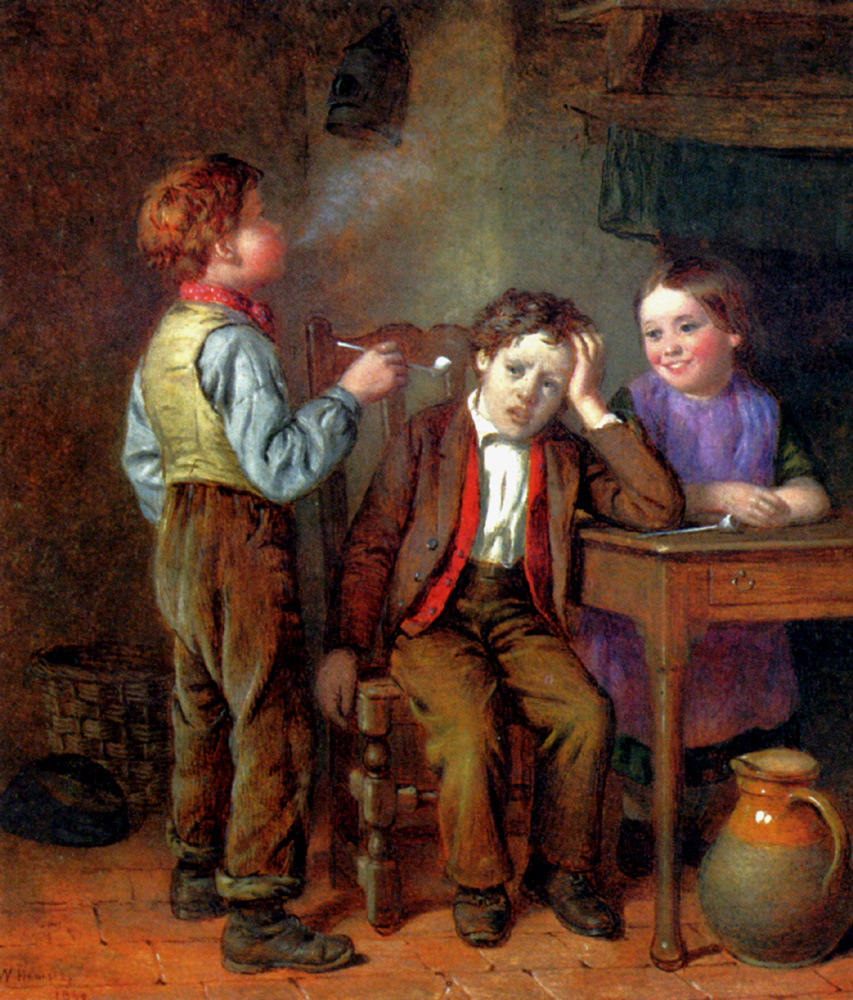 The First Pipe by William Hemsley