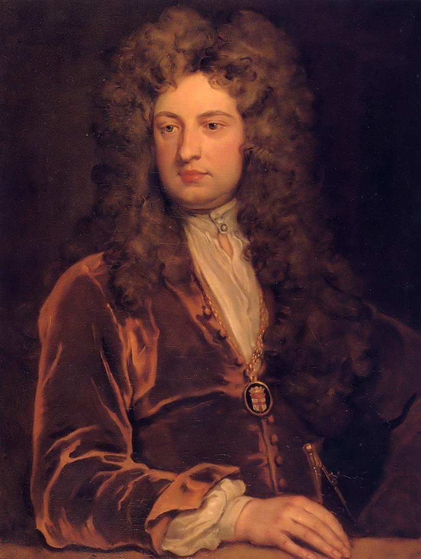 Portrait of John Vanbrugh by Sir Godfrey Kneller