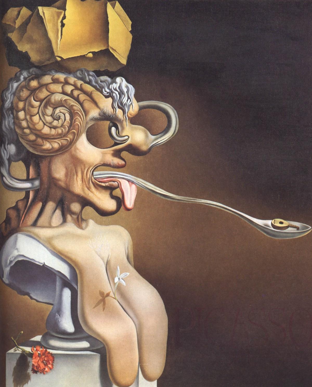 Portrait of Picasso by Salvador Dali