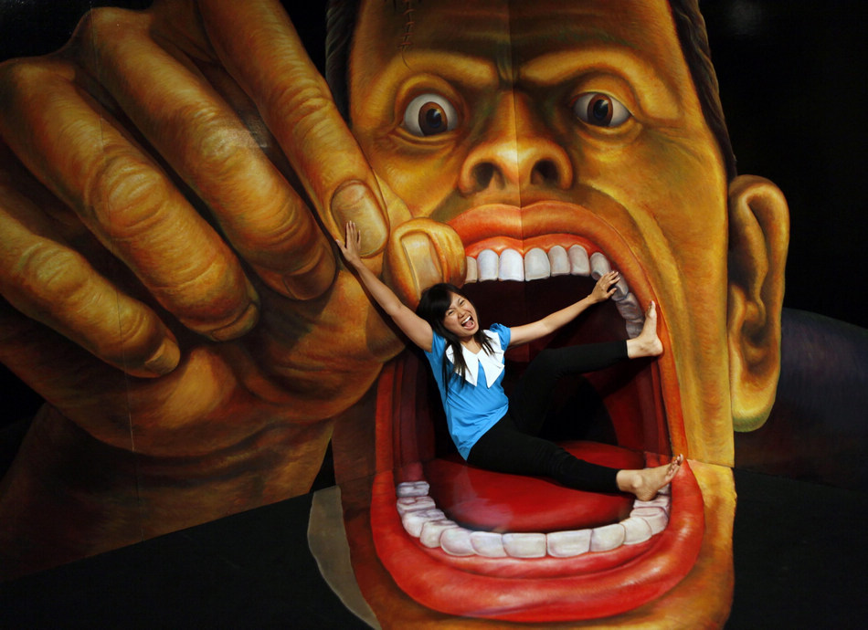 Indonesia Trick Art