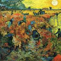 The Red Vineyard by Vincent van Gogh