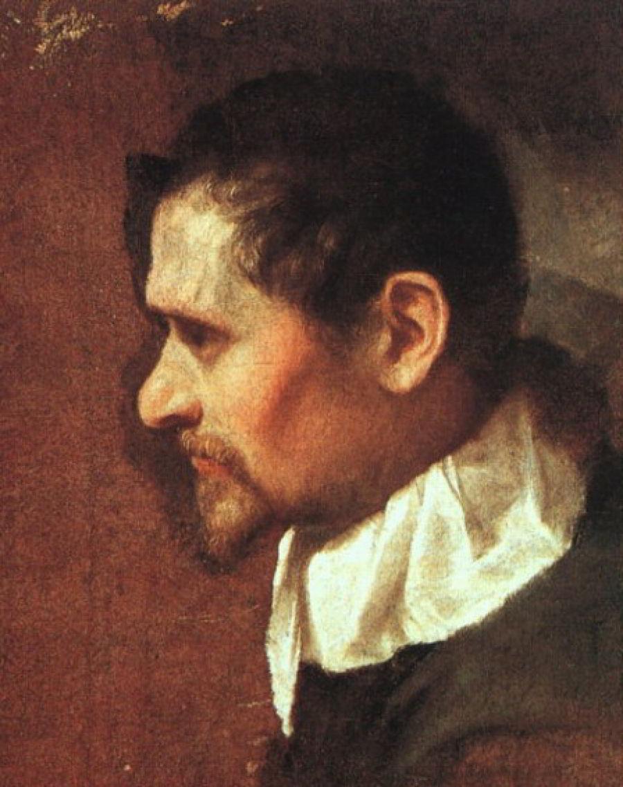 Self-portrait by Annibale Carracci