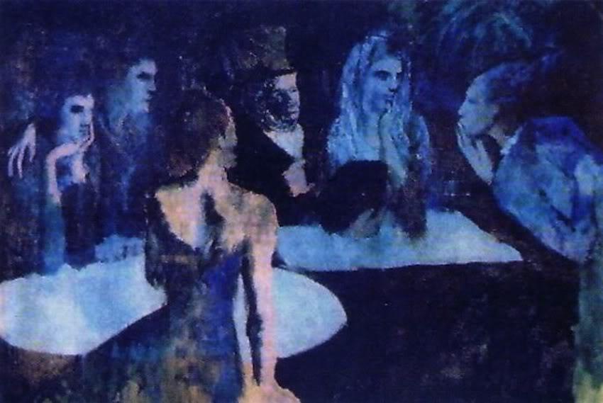 Les Noces de Pierrette (The marriage of Pierrette) by Pablo Picasso (1905)