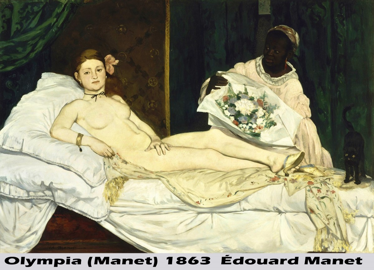 Olympia (Manet) by Édouard Manet