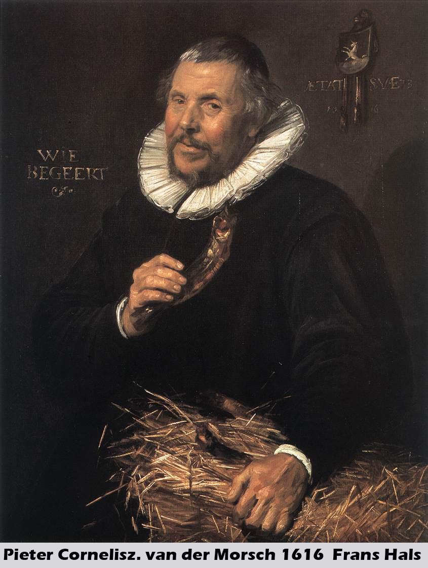 Pieter Cornelisz van der Morsch by Frans Hals