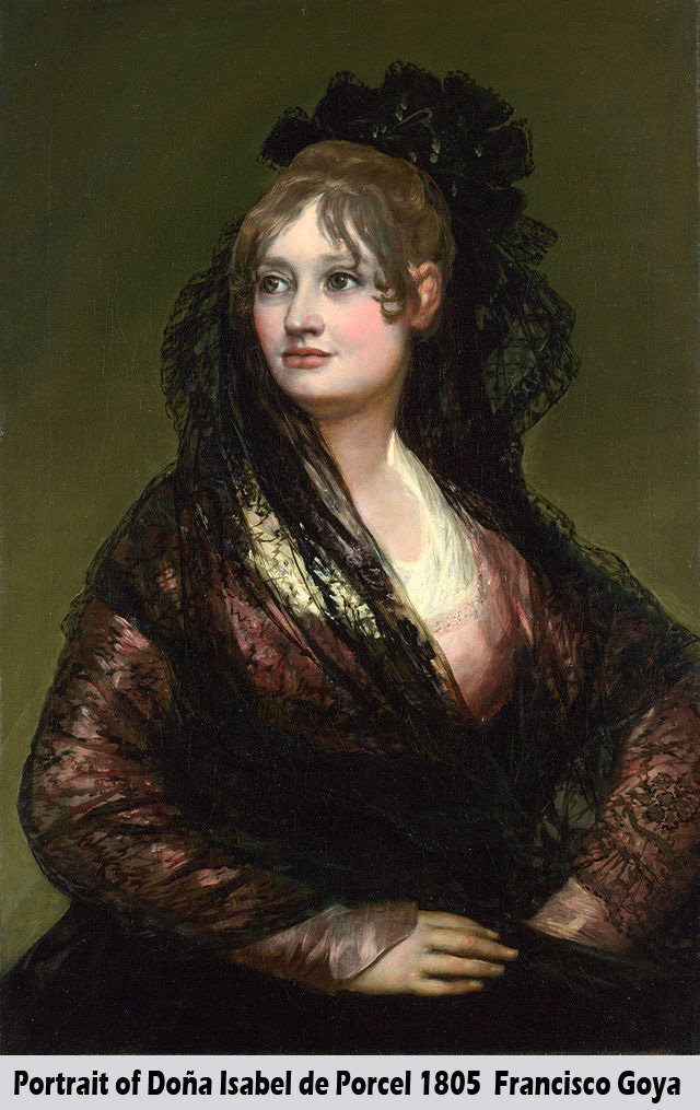Portrait of Dona Isabel de Porcel by Francisco Goya