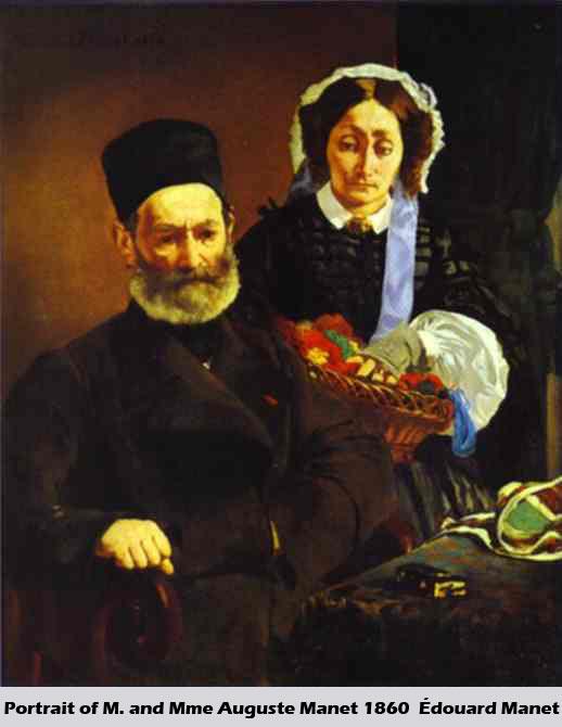 Portrait-of-M.-and-Mme-Augu-Portrait Painting