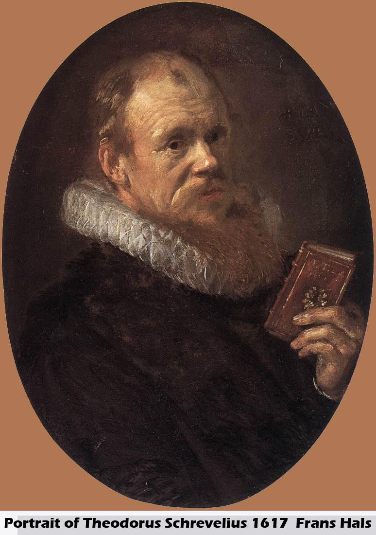 Portrait of Theodorus Schrevelius by Frans Hals