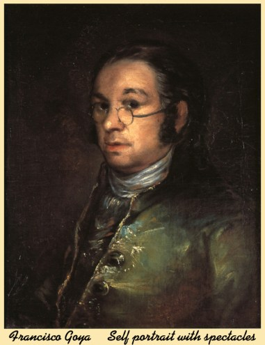 Self portrait with spectacles