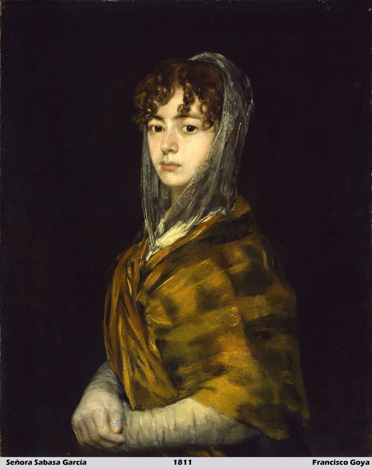 Senora Sabasa Garcia by Francisco Goya