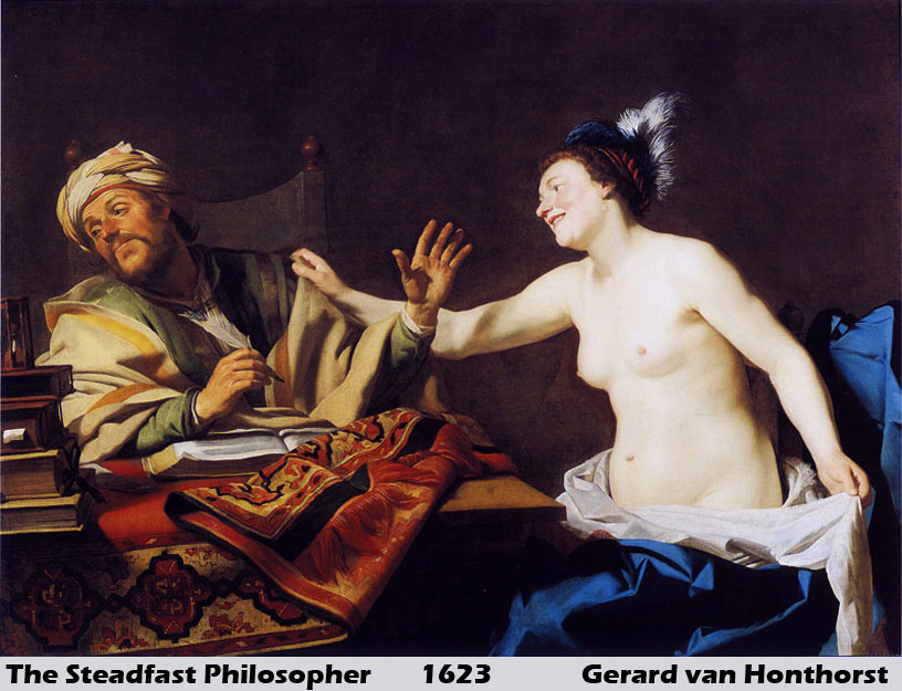The Steadfast Philospher by Gerrit van Honthorst
