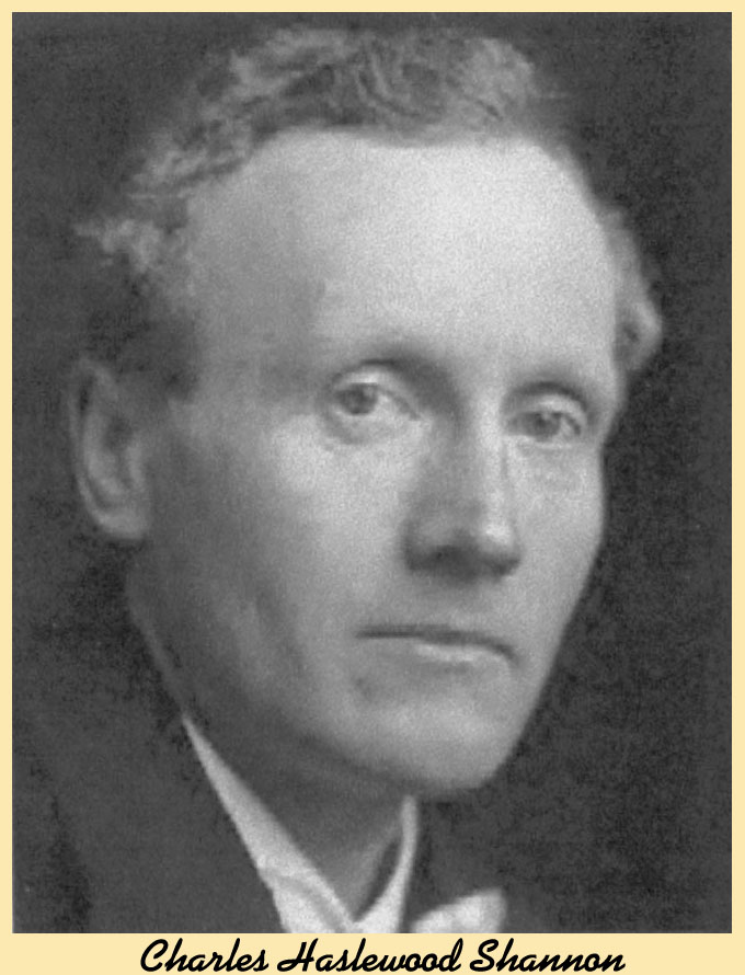 Charles Haslewood Shannon photo