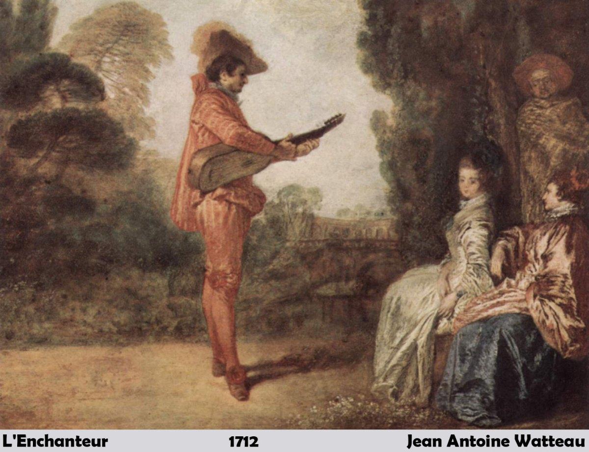 L'Enchanteur by Jean Antoine Watteau