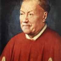 Portrait of Cardinal Niccolò Albergati by Jan van Eyck