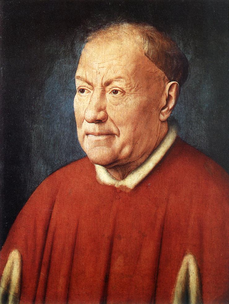 Portrait of Cardinal Niccolò Albergati by Jan van Eyck