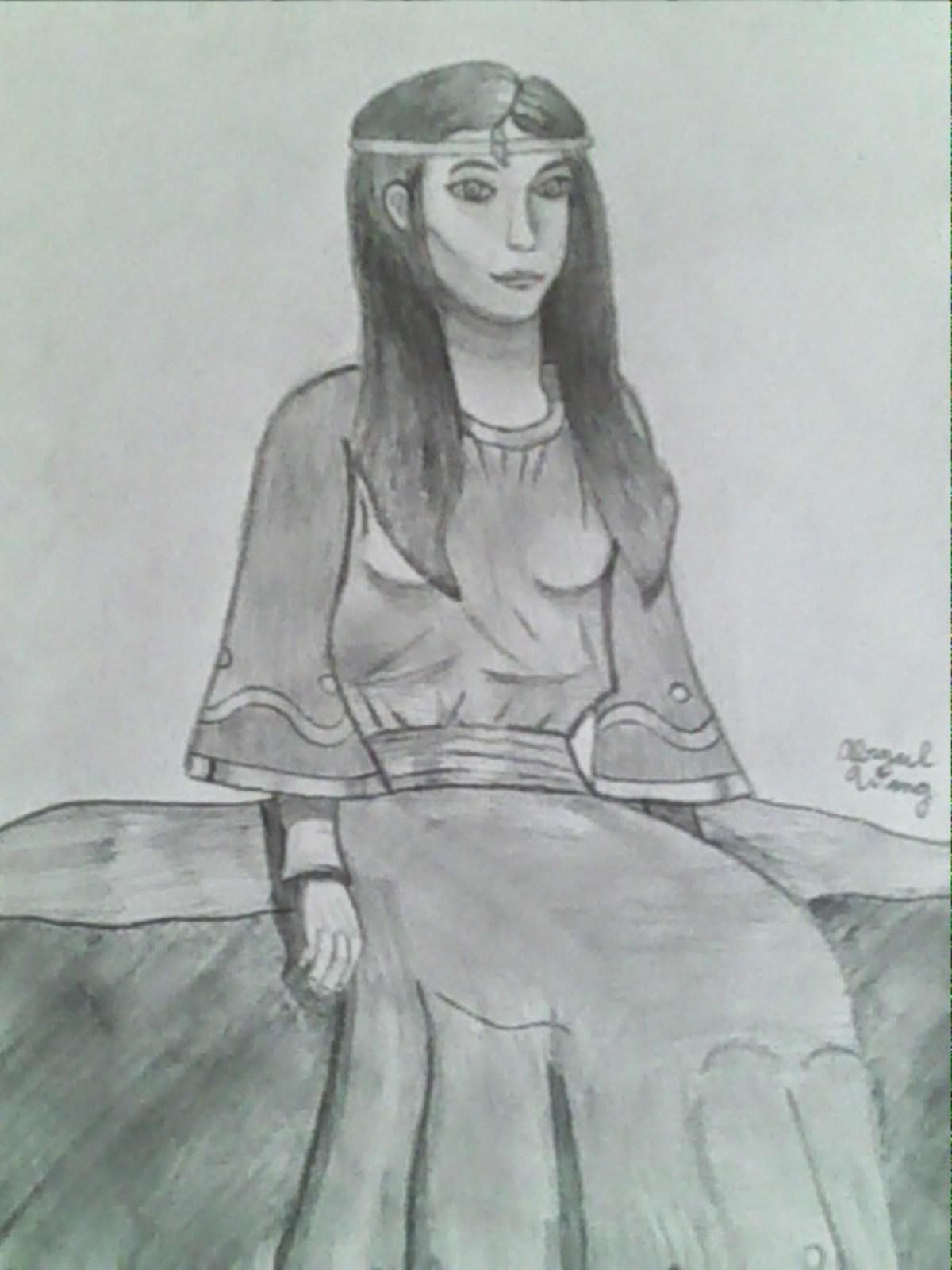 Queen Cerys by Abigail Wang