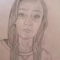 Self-portrait by Danielle Solomon