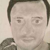 Self-portrait by Paul Hill