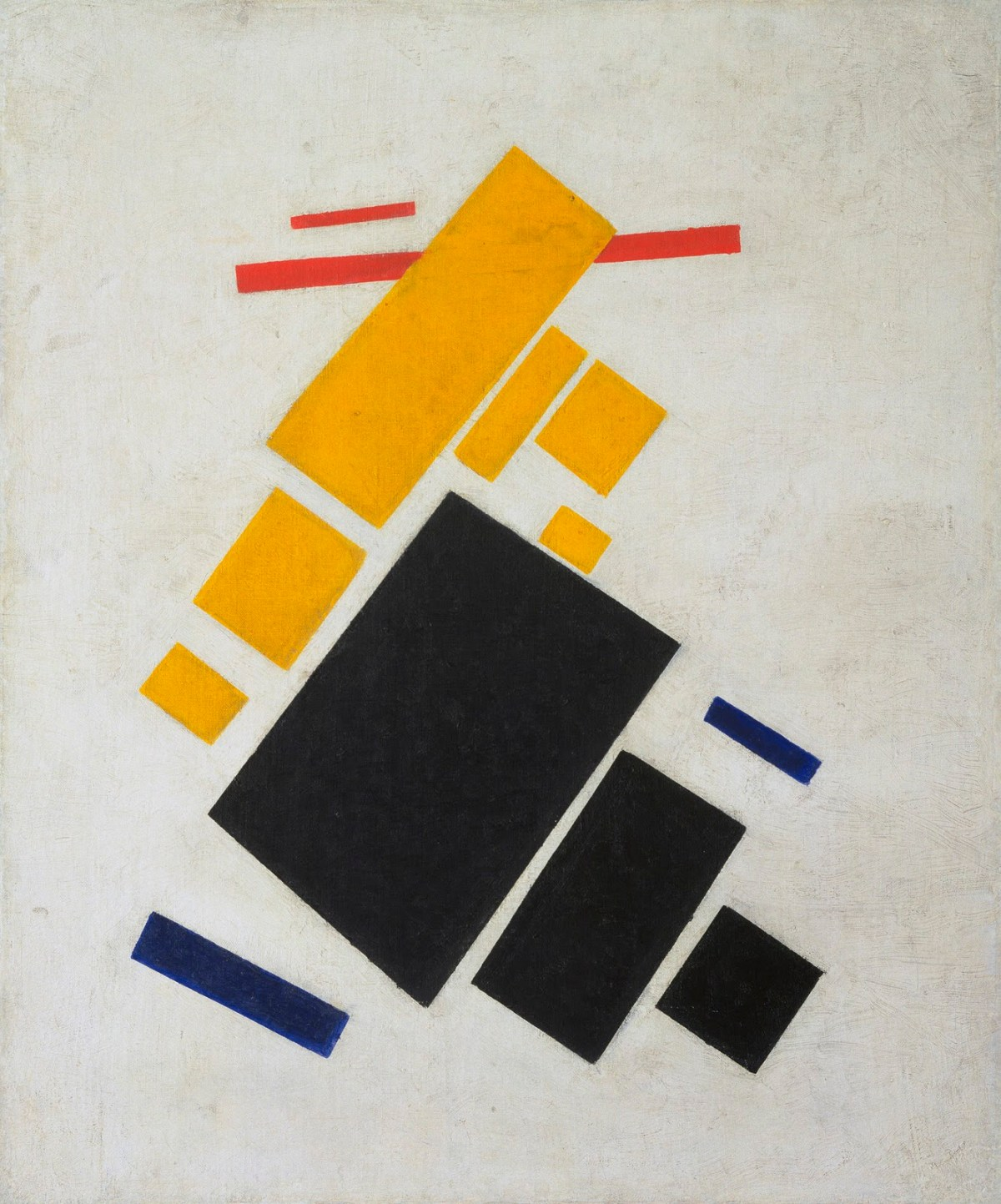 Suprematist Composition Airplane Flying by Kazimir Malevich