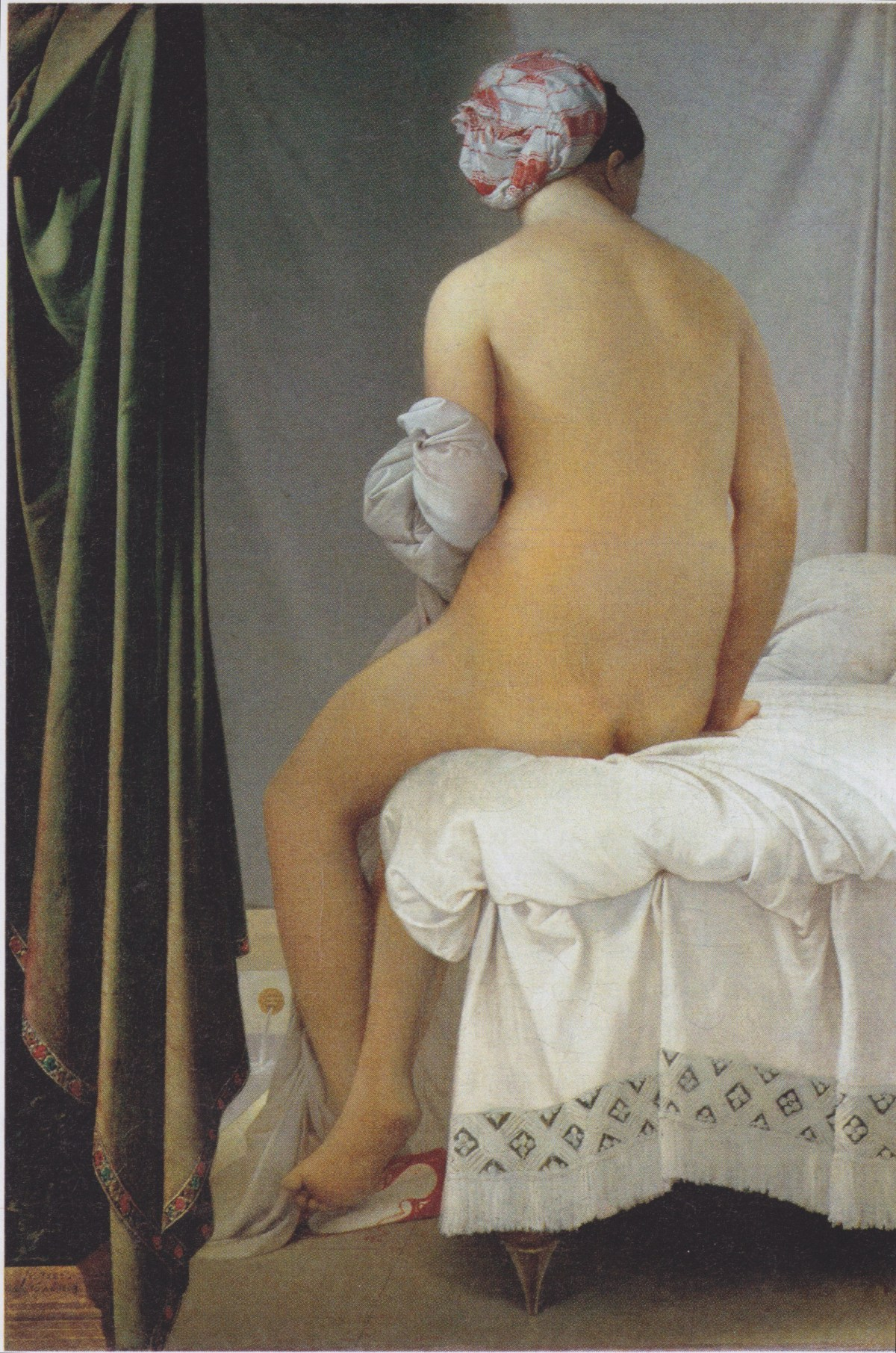 The Valpinçon Bather by Jean Auguste Dominique Ingres