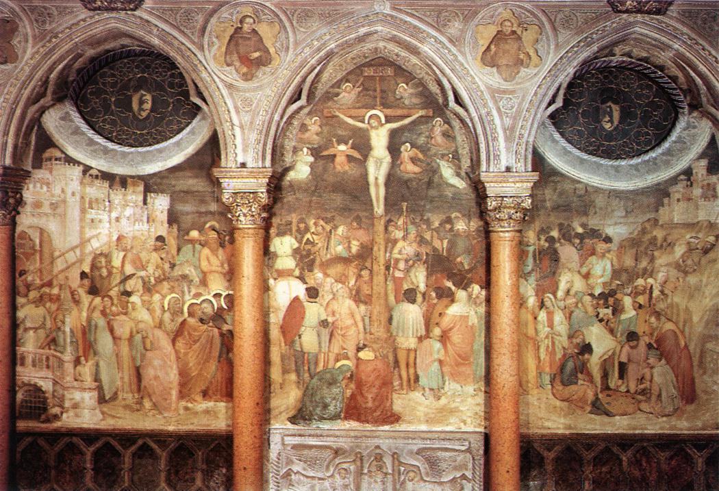 Crucifixion by Altichiero da Zevio