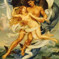 Boreas and Orietyia by Evelyn de Morgan