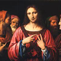 Christ disputing with the Doctors by Bernardino Luini