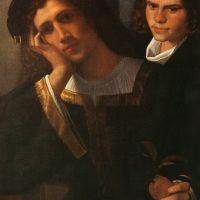 Double Portrait (attributed to Giorgione) by Giorgione
