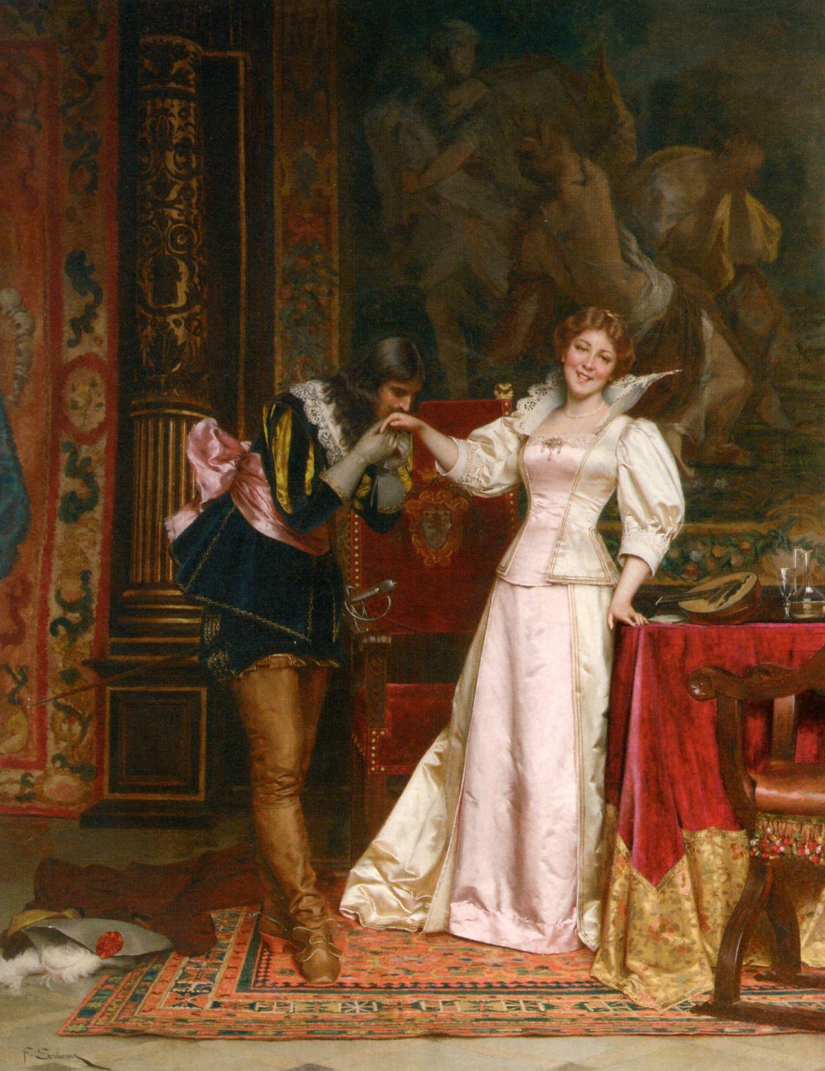 Enchantee by Charles Joseph Frederick Soulacroix