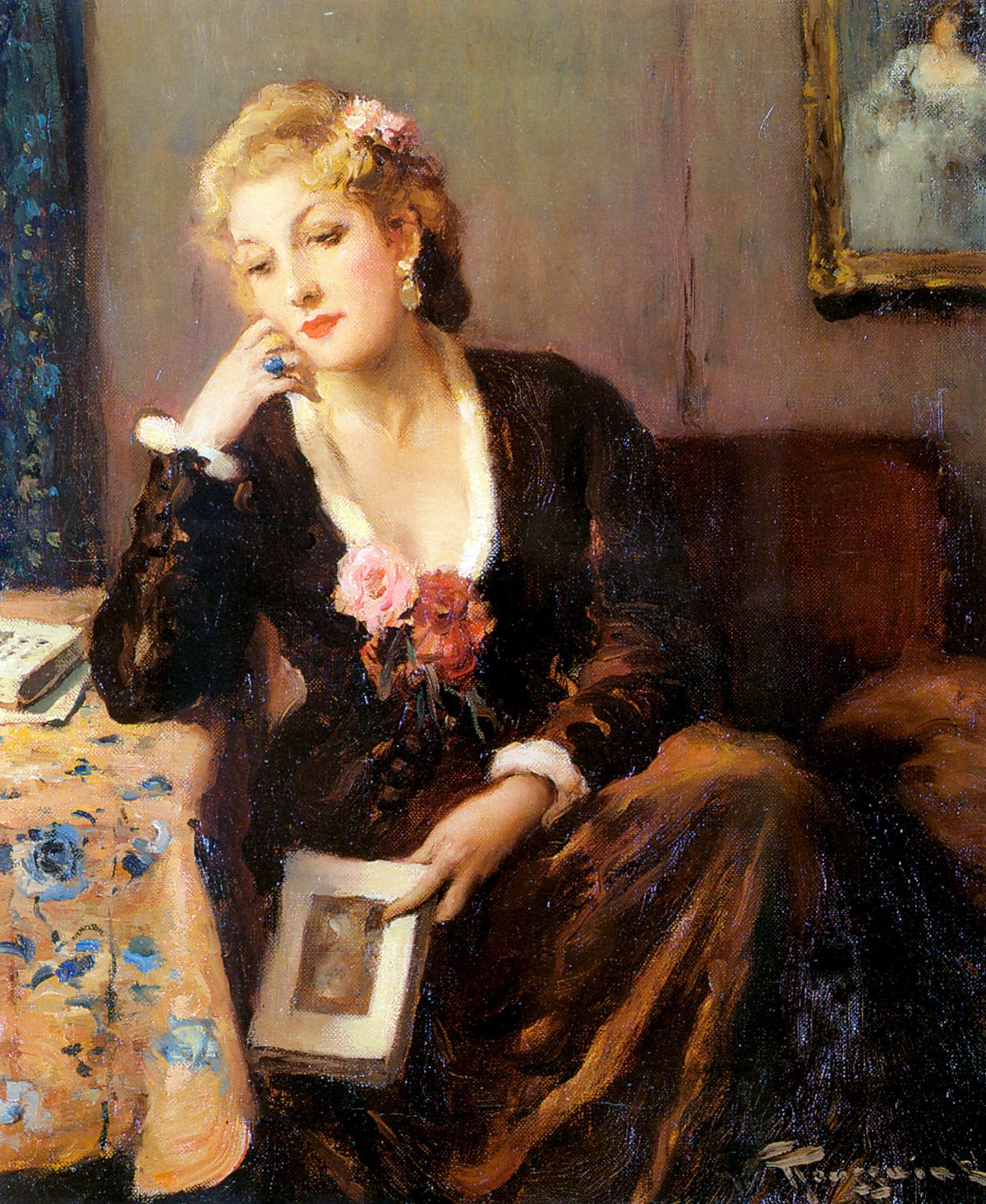 Faraway Thoughts by Fernand Toussaint