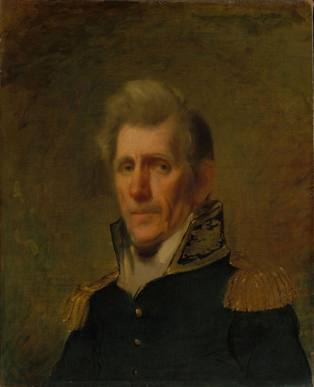 General Andrew Jackson by Samuel Lovett Waldo