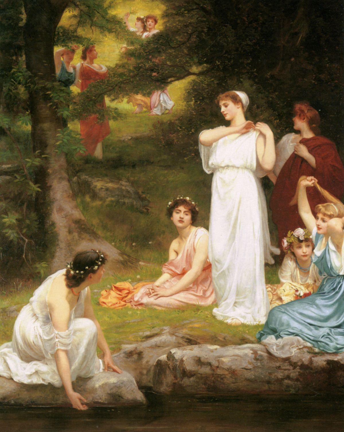 Joyous Summer by Philip Hermogenes Calderon