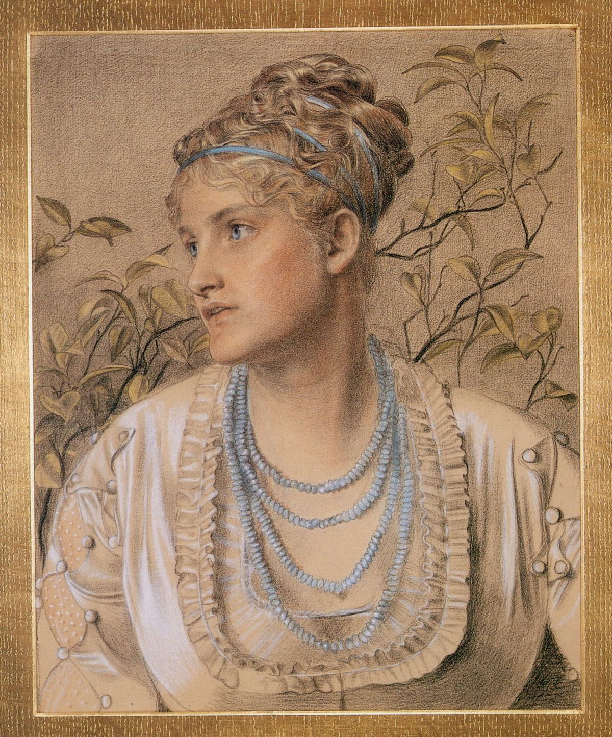 Mary Sandys by Anthony Frederick Sandys