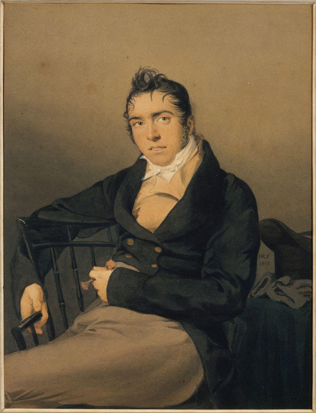 Allan Melville by John Rubens Smith