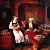 Bestemors Brudekrone by Adolph Tidemand