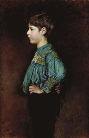 Portrait of Guy William Hopton by Annie Swynnerton