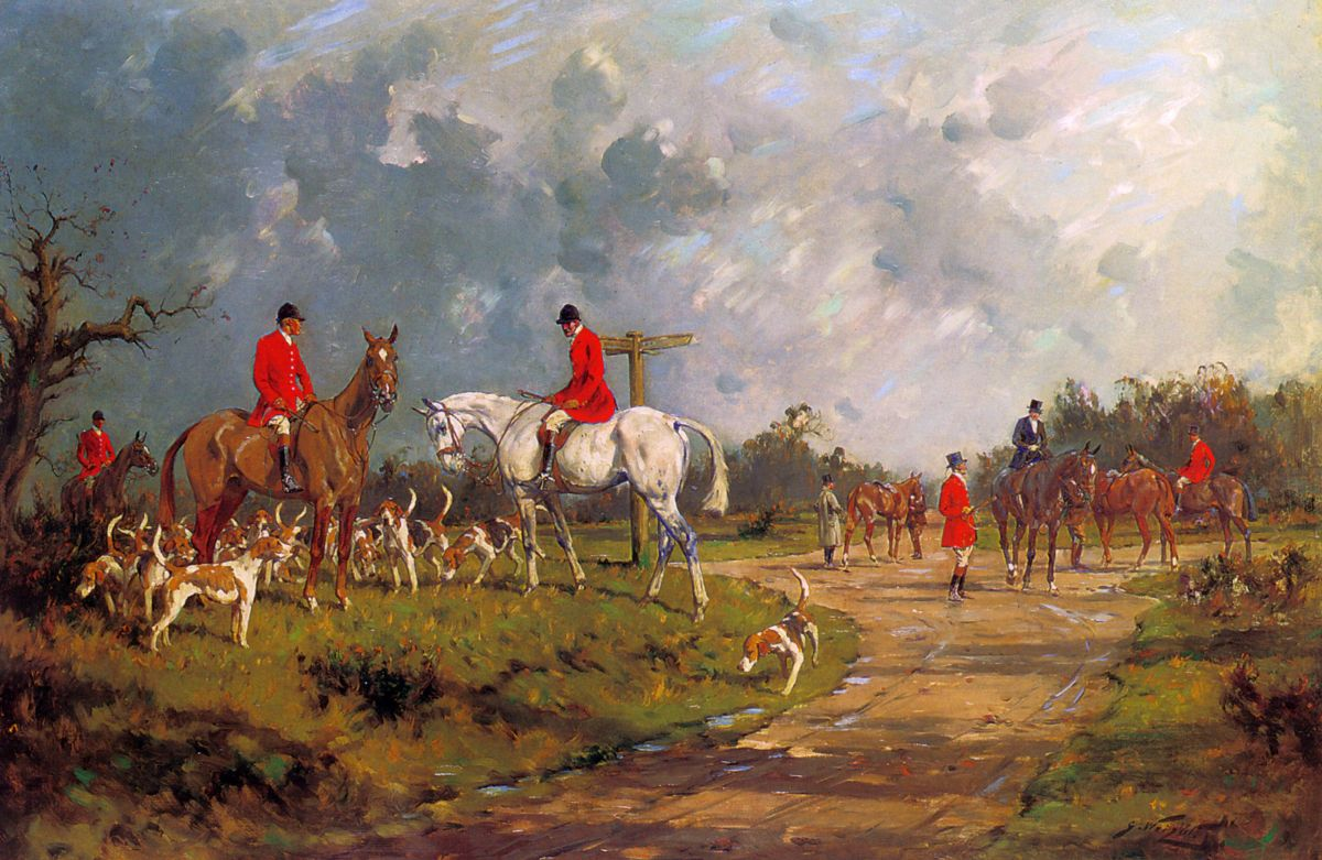 The Meet at the Crossroads by George Wright