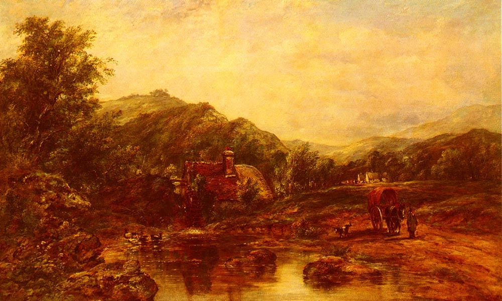 A Mill Stream Among The Hills by Frederick Waters Watts