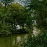 A River Landscape by Christian Peder Morch Zacho