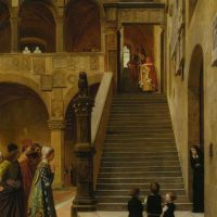 An Appeal to the Podesta by William Frederick Yeames