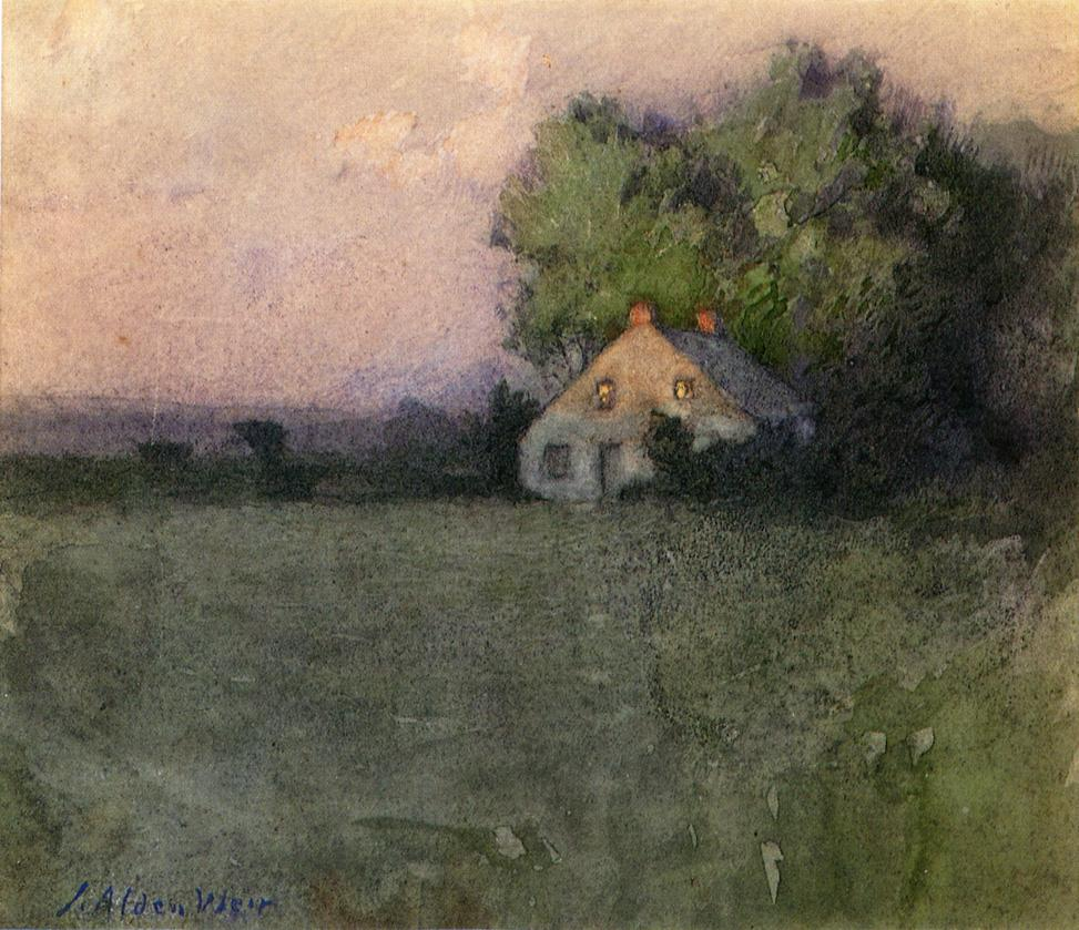 Branchville Connecticut by Julian Alden Weir