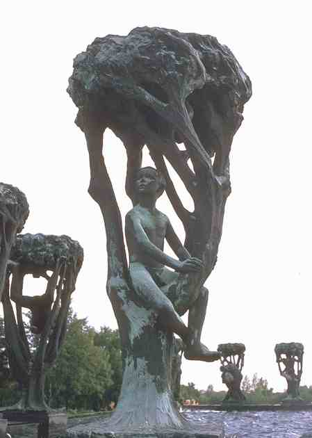 Child in a Tree by Gustav Vigeland