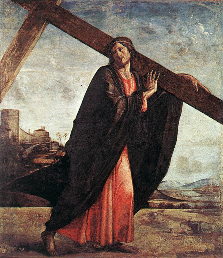 Christ Carrying the Cross by Alvise Vivarini