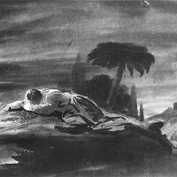 Christ in the Garden of Gethsemane by Robert Walter Weir