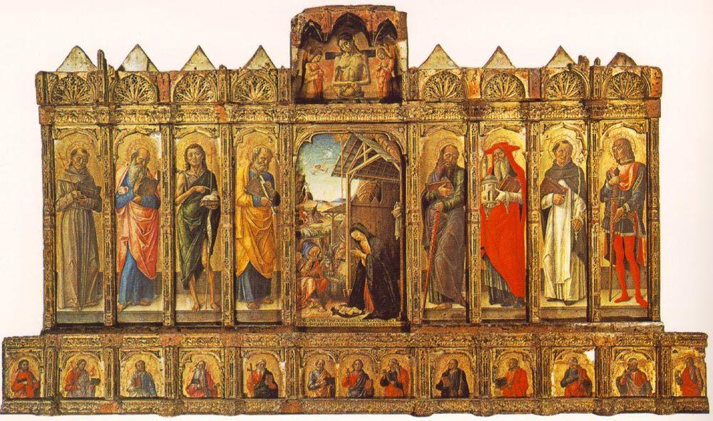 Conversano Polyptych by Bartolomeo Vivarini